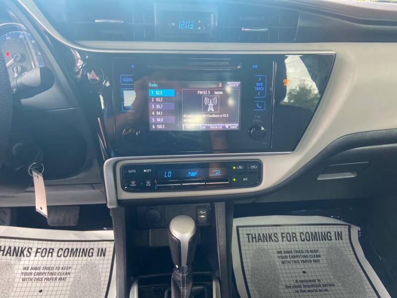 2017 Toyota Corolla LE 4dr Sedan - Tampa FL