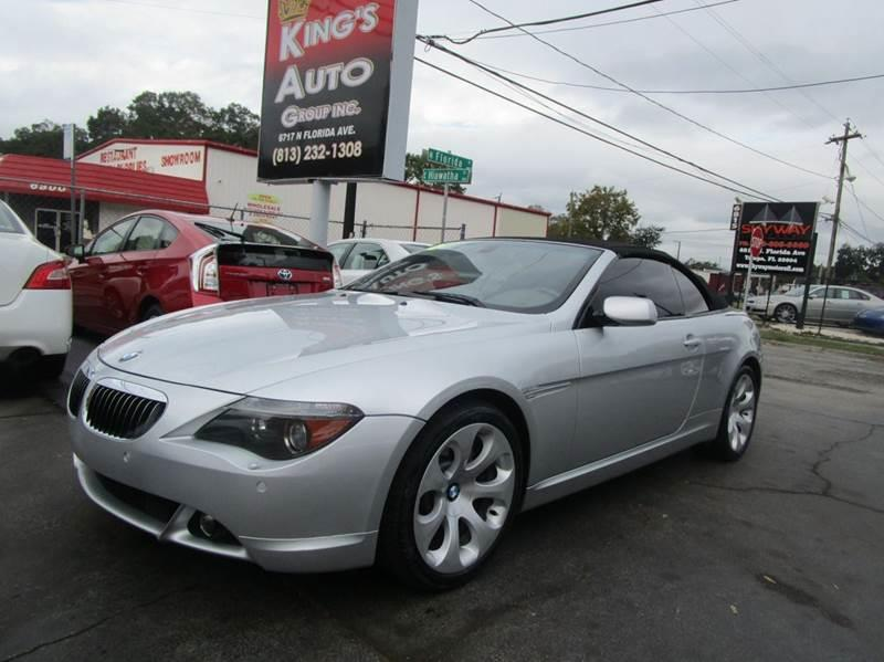2005 bmw 6 series 645ci 2dr convertible in tampa fl kings auto group. Black Bedroom Furniture Sets. Home Design Ideas