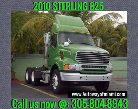 2010 Sterling 825