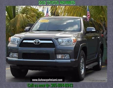 2012 Toyota 4Runner for sale in Miami, FL
