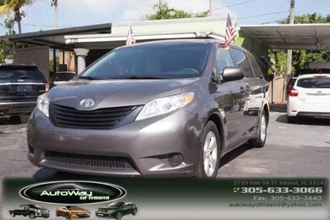 2016 Toyota Sienna for sale in Miami, FL