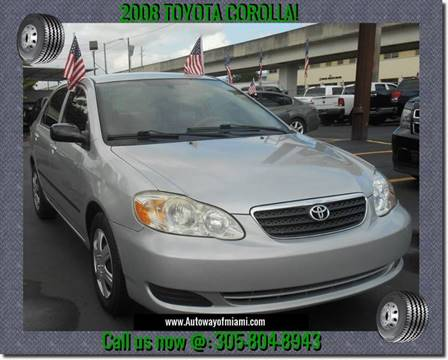 2008 Toyota Corolla for sale in Miami, FL