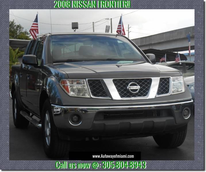 2008 Nissan Frontier 4x2 LE 4dr Crew Cab 5.0 Ft. SB 5A   Miami FL