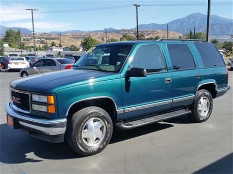 1999 GMC Yukon for sale in Redlands, CA