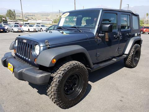 2007 Jeep Wrangler Unlimited for sale in Alfred, CA