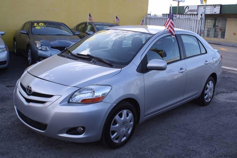 2008 Toyota Yaris S 4dr Sedan 4A - Miami FL