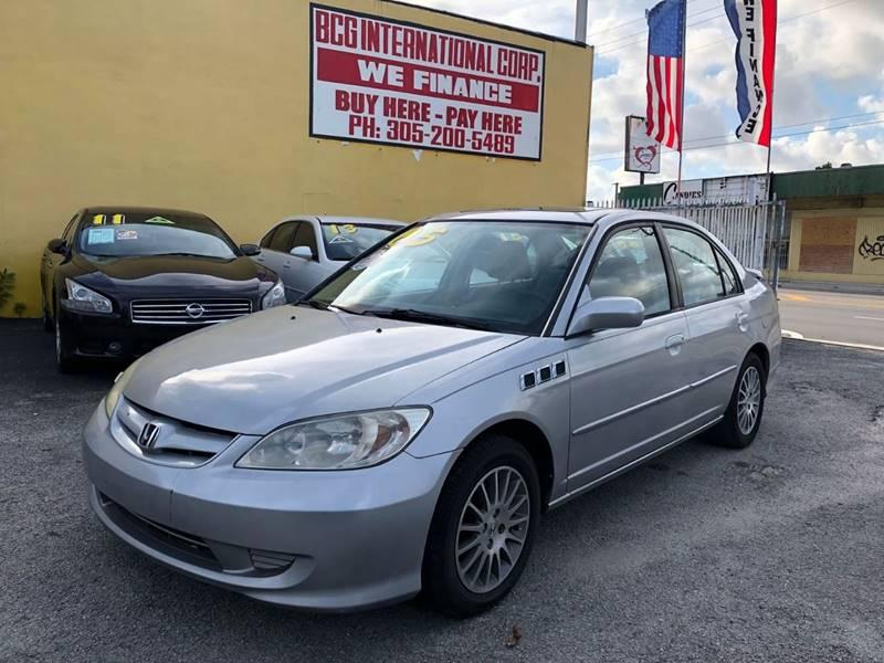 2005 honda civic ex special edition 4dr sedan in north haven ct.
