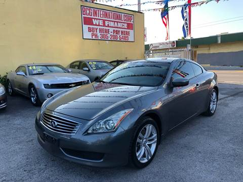G37 Coupe For Sale >> Used Infiniti G37 Coupe For Sale In Florida Carsforsale Com