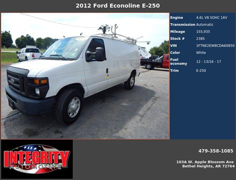 2012 Ford E-Series Cargo for sale in Bethel Heights, AR