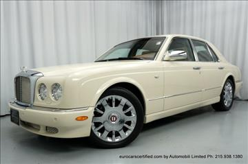 2007 Bentley Arnage for sale in Huntingdon Valley, PA