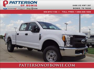 2017 Ford F-250 Super Duty for sale in Bowie, TX