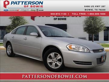2012 Chevrolet Impala for sale in Bowie, TX