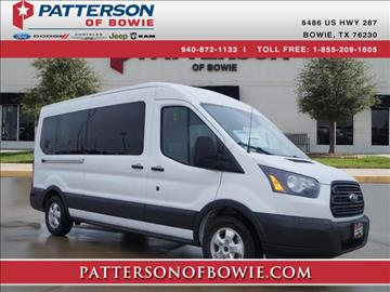 2017 Ford Transit Wagon for sale in Bowie, TX