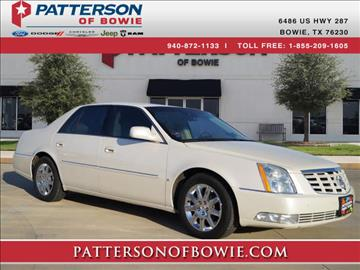 2010 Cadillac DTS for sale in Bowie, TX