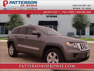 2012 Jeep Grand Cherokee for sale in Bowie, TX