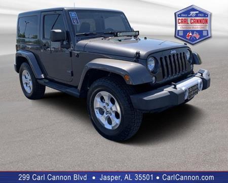 2014 Jeep Wrangler for sale in Jasper, AL