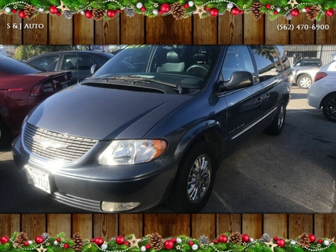 2001 Chrysler Town and Country for sale in Long Beach, CA