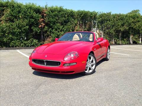2002 Maserati Spyder for sale at Velocity Motors in Newton MA