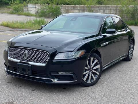 2017 Lincoln Continental for sale at Velocity Motors in Newton MA