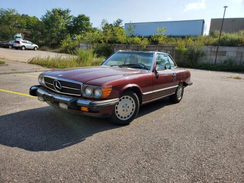 1988 Mercedes-Benz 560-Class for sale at Velocity Motors in Newton MA