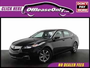 2013 Acura TL for sale in Miami, FL