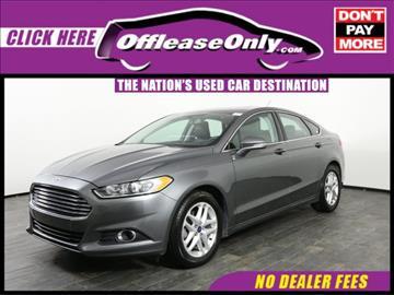 2014 Ford Fusion for sale in Miami, FL