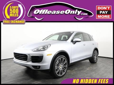 2015 Porsche Cayenne for sale in Miami, FL