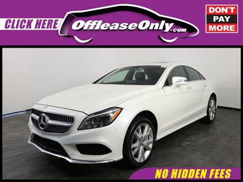 2015 Mercedes-Benz CLS for sale in Miami, FL