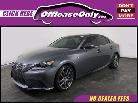 2014 Lexus IS 250 for sale in Miami, FL