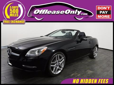 2015 Mercedes-Benz SLK for sale in Miami, FL