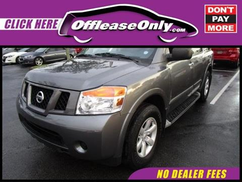 2014 Nissan Armada for sale in Miami, FL