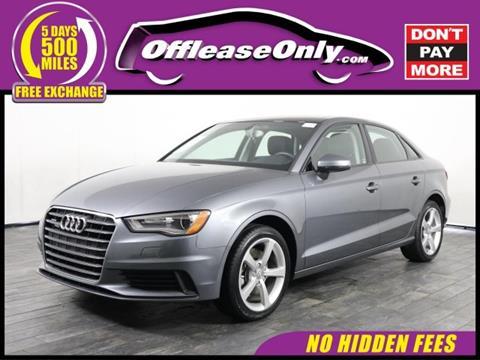 Used Audi For Sale In Miami FL Carsforsalecom - Audi miami