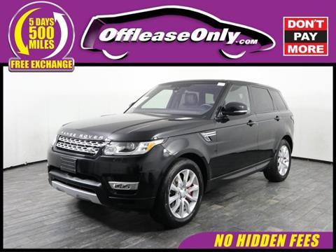 2016 Land Rover Range Rover Sport for sale in Miami, FL