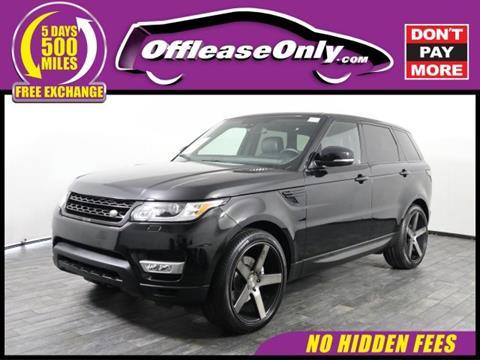 2015 Land Rover Range Rover Sport for sale in Miami, FL