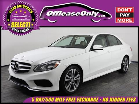 2014 Mercedes-Benz E-Class for sale in Miami, FL