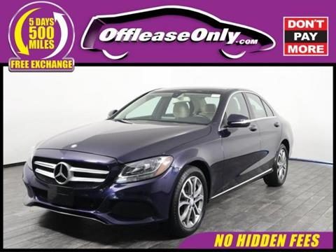 2015 Mercedes-Benz C-Class for sale in Miami, FL