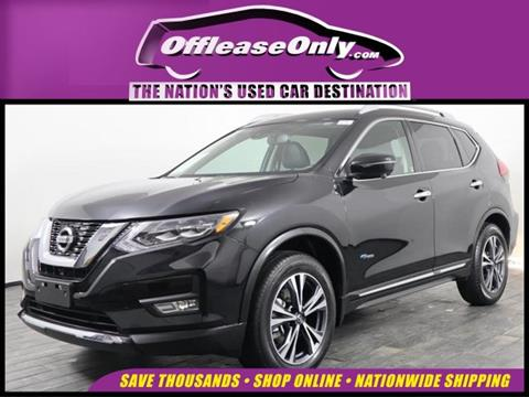 Nissan State College >> 2017 Nissan Rogue Hybrid For Sale In Miami Fl