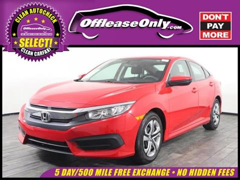 2017 Honda Civic for sale in Miami, FL