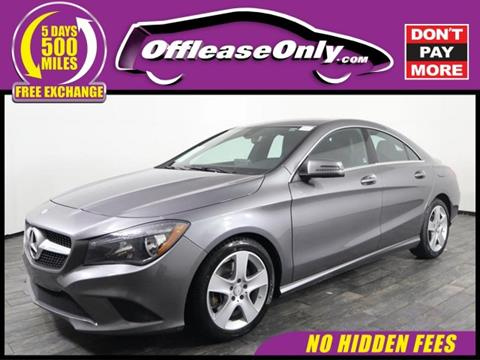 Used Car Dealerships Syracuse Ny >> 2016 Mercedes Benz Cla For Sale In Miami Fl