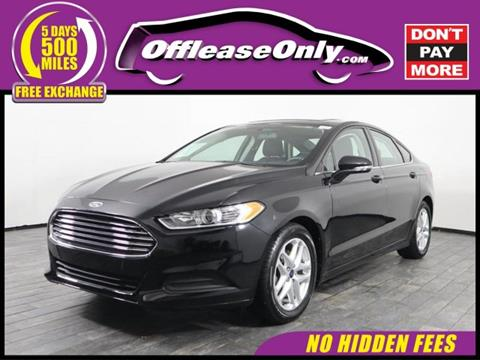 2016 Ford Fusion for sale in Miami, FL