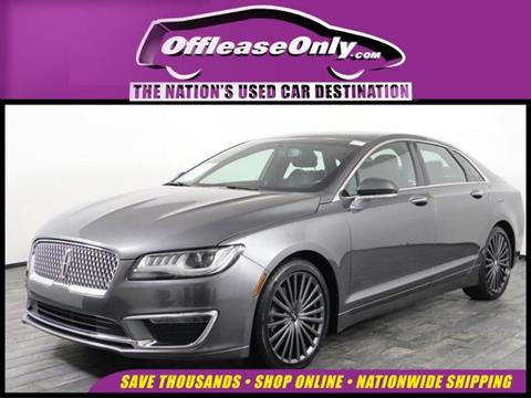 2017 Lincoln MKZ for sale in Miami, FL