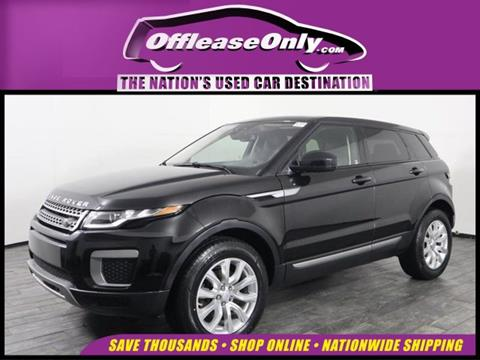 2016 Land Rover Range Rover Evoque for sale in Miami, FL