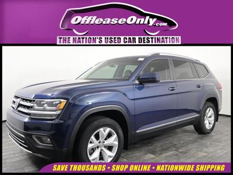 2018 Volkswagen Atlas for sale in Miami, FL