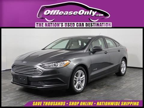 2018 Ford Fusion Hybrid for sale in Miami, FL
