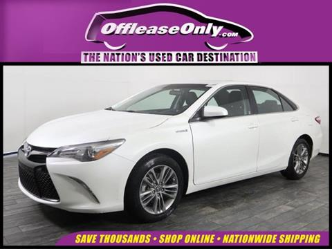 2017 Toyota Camry Hybrid for sale in Miami, FL