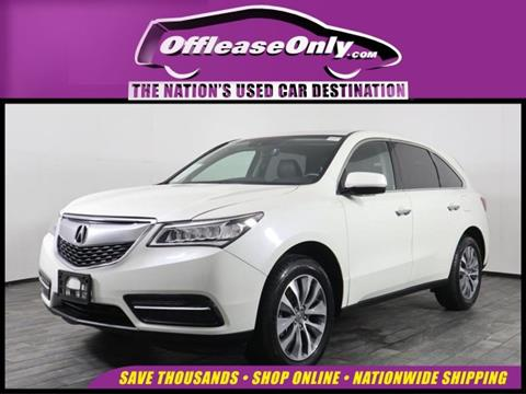 2016 Acura MDX for sale in Miami, FL