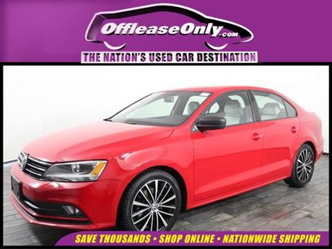 2016 Volkswagen Jetta for sale in Miami, FL