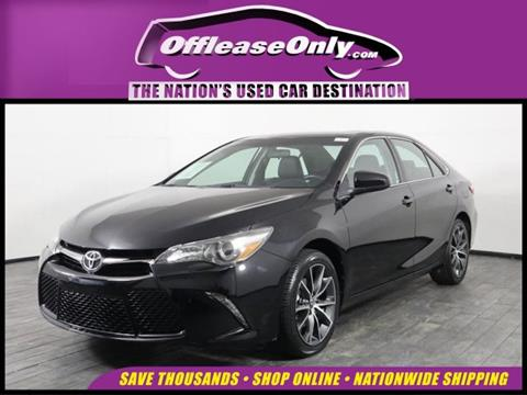2016 Toyota Camry for sale in Miami, FL
