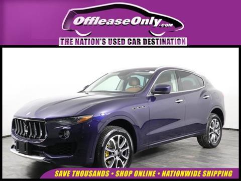 2017 Maserati Levante for sale in Miami, FL