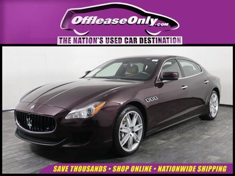 2016 Maserati Quattroporte for sale in Miami, FL